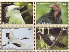 UNO New York 2011 / 1277-1280 / Vtáky  **
