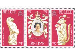Belize 1978 / 0381-0383 25. výročie korunovácie Alžbety II. **