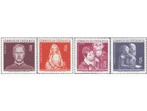 Kostarika dobročinné 1960 / 007-010 vianoce **