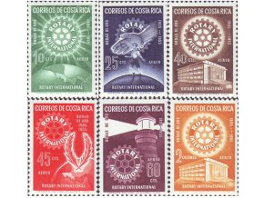 Kostarika 1956 / 0511-0516 Rotary **