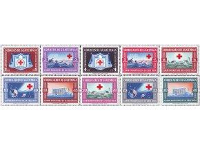 Guatemala 1960 / 0633-0642 Červený kríž