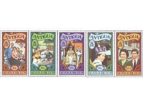 Antigua 1977 / 25. výročie vládnutia Alžbety II. **
