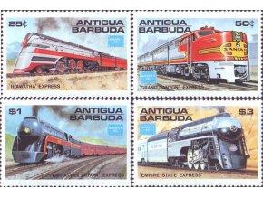 Antigua a Barbuda 1986 / 0944-0947 / Lokomotívy  **
