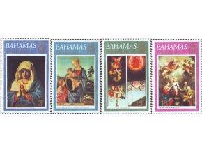 Bahamy 1973 / 0360-0363 Vianoce - umenie **