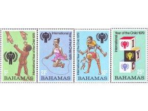 Bahamy 1979 / 0436-0439 Medzinárodný rok detí