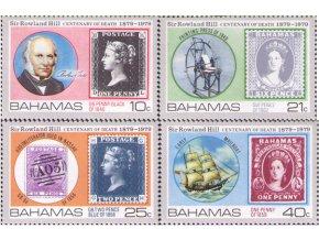 Bahamy 1979 / 0440-0443 Rowland Hill
