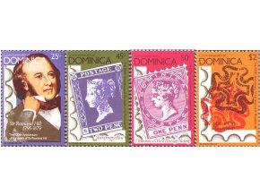 Dominica 1979 / 0615-0618 / Rowland Hill **