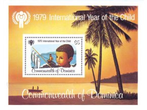 Dominica 1979 / 0629 Bl. 55 / Medzinárodný rok detí **