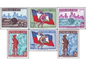 Haiti 1959 / 0580-0585 3. panamerické športové hry