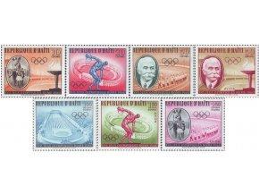 Haiti 1960 / 0629-0635 LOH v Ríme