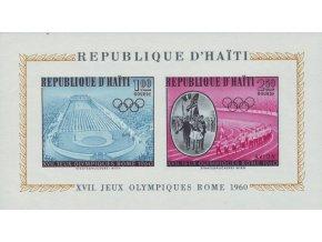 Haiti 1960 / 0635 Bl. 14 LOH v Ríme