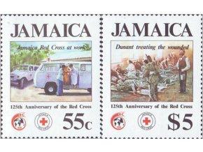 Jamajka 1988 / 0700-0701 / Červený kríž **