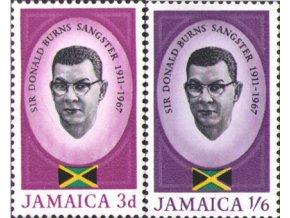 Jamajka 1967 / 0263-0264 Ministerský predseda