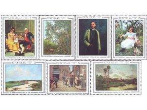 Kuba 1968 / 1447-1453 / Umenie  **