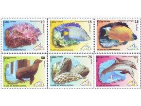 Kuba 2010 / 5346-5351 + Bl. 273 / 50 rokov národného akvária