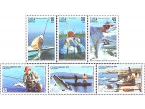 Kuba 2009 / 5322-5327 + Bl. 270 / Športové rybárstvo