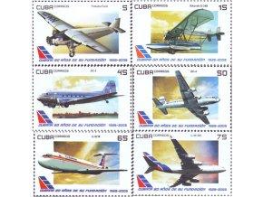 Kuba 2009 / 5307-5312 + Bl. 267 / Kubánske letectvo