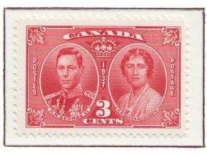 Canada 1937 / 0203 Korunovácia Juraja VI. **
