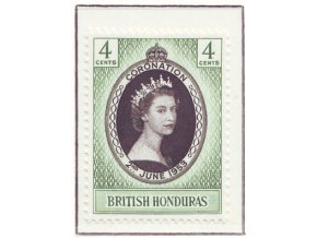 Br. Honduras 1953 / 0140 / Korunovácia Alžbety II. **