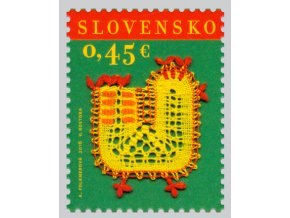 SR 2016 / 607 / Veľká noc - paličkovaná čipka