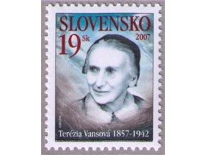 SR 2007 / 389 / Osobnosti - Terézia Vansová