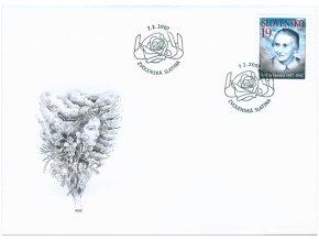 SR 2007 / 389 / Osobnosti - Terézia Vansová / FDC