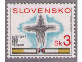 SR 1994 / 031 / Svetový deň bez tabaku