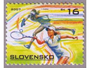 SR 2007 / 393 / Šport - tenis