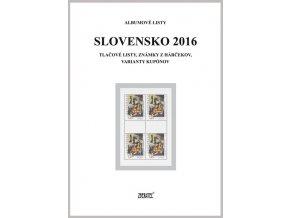 Albumové listy SR 2016 II