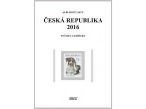 Albumové listy Česko 2016 I