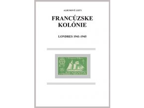 Albumové listy Franc kol 1941-1945 Londres