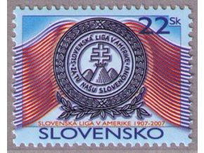 SR 2007 / 396 / 100 rokov Slovenskej ligy v Amerike