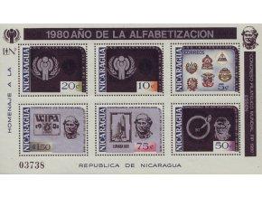 Nikaragua 2135 2140 Bl 124