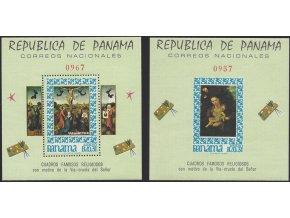 Panama 972 Bl 66 973 Bl 67