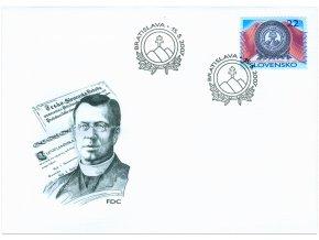 SR 396 100 rokov Slovenskej ligy v Amerike FDC