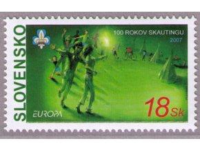 SR 2007 / 397 / EUROPA - skauting