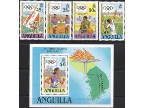 Anguilla 0782 785 + Bl 80