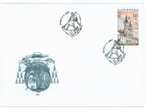 SR 2007 / 399-400 / Krásy našej vlasti / FDC (2)