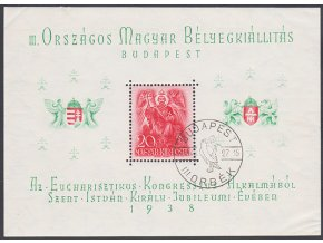 Maďarsko 0568 Bl2