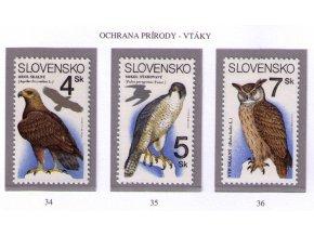 SR 1994 / 034-036 / Ochrana prírody