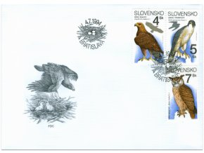 SR 1994 / 034-036 / Ochrana prírody FDC