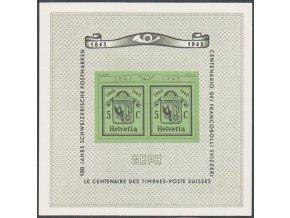 Svajciarsko 0423 Bl10