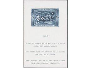 Svajciarsko 0445 Bl11