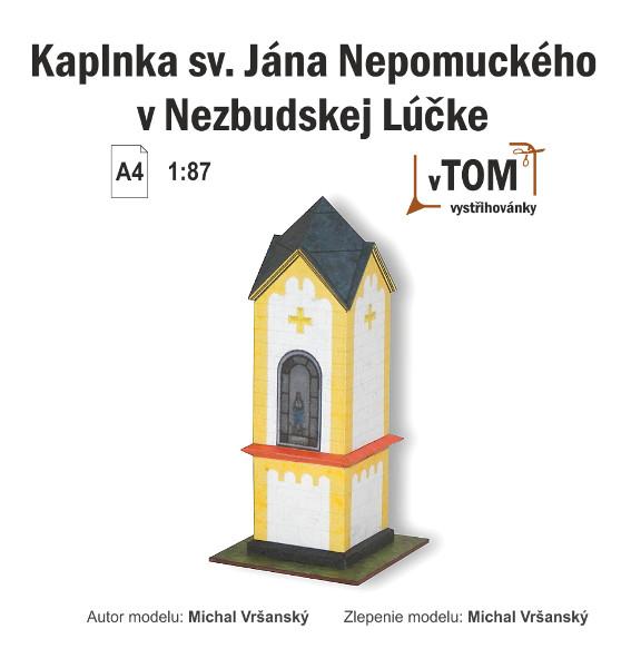 Kaplnka sv. Jána Nepomuckého, Nezbudská Lúčka