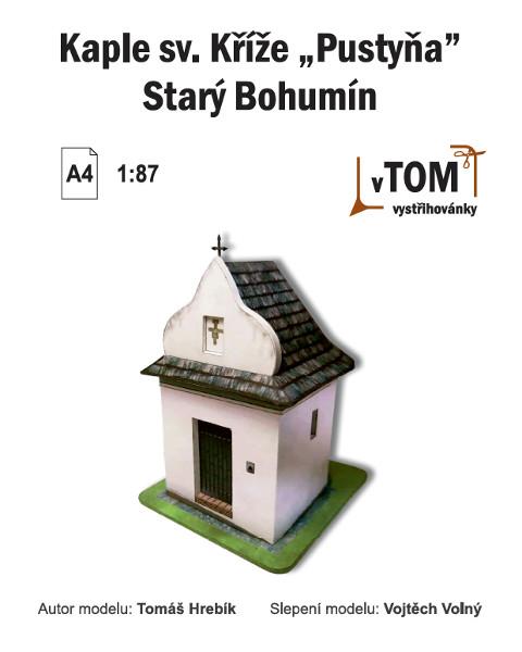 """Kaple sv. Kříže """"Pustyňa"""" - Starý Bohumín"""