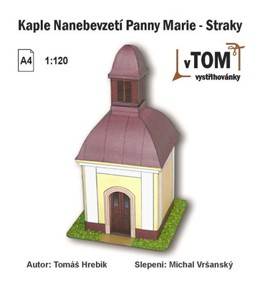 Kaple nanebevzetí Panny Marie - Straky