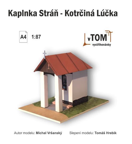 Kaplnka Stráň - Kotrčiná Lúčka