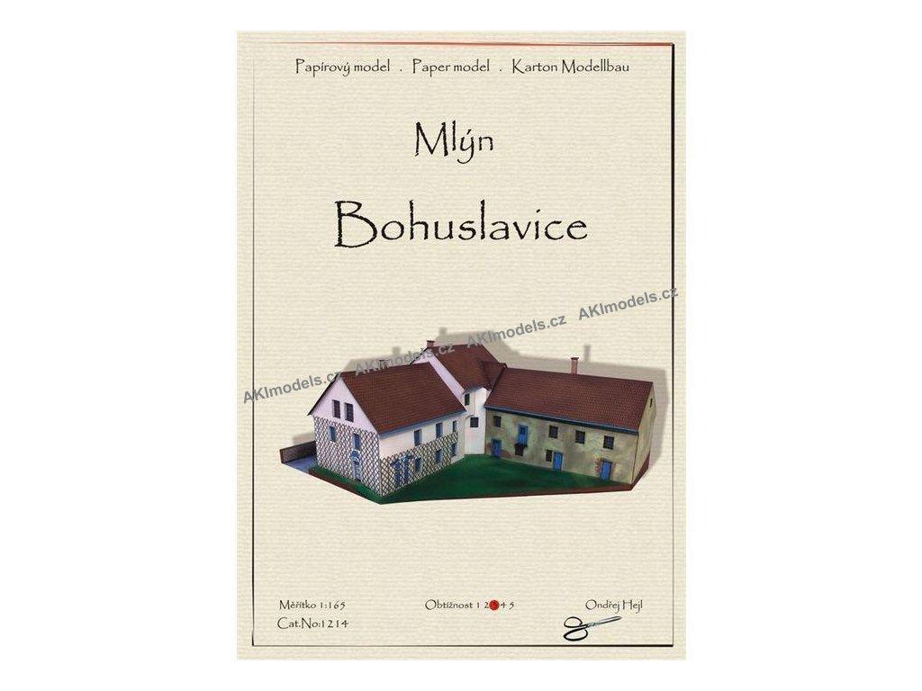 Bohuslavice - mlýn
