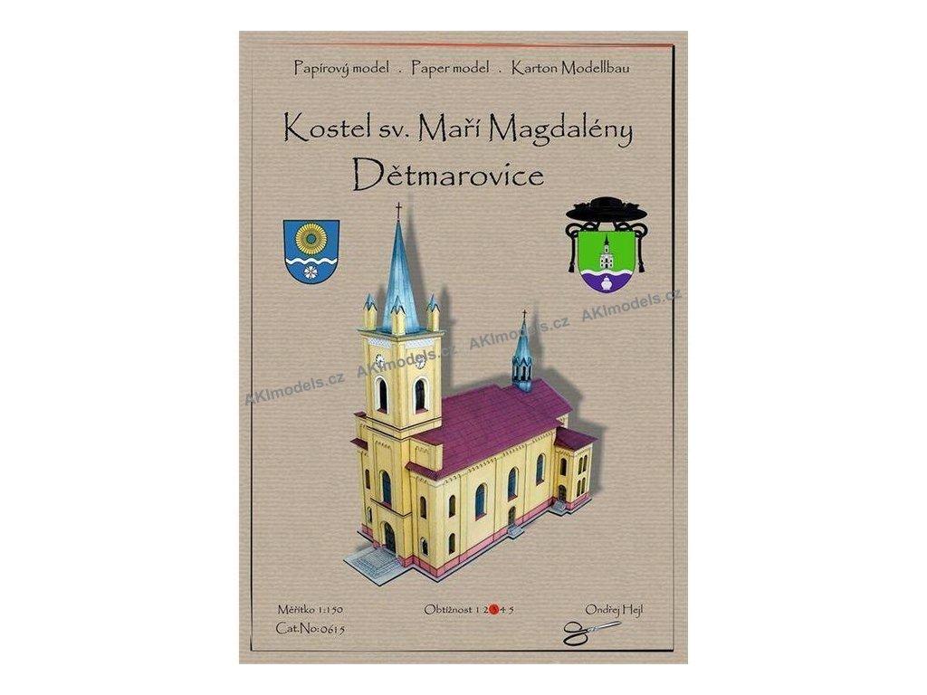 Dětmarovice - kostel sv. Máří Magdalény