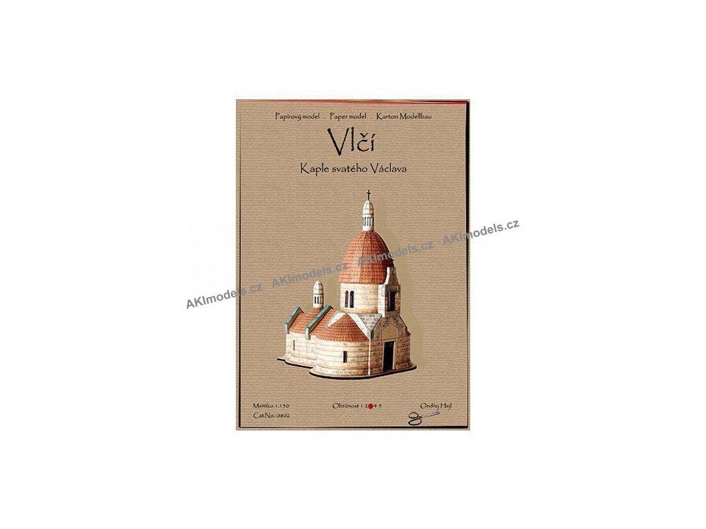 Vlčí - kaple sv. Václava